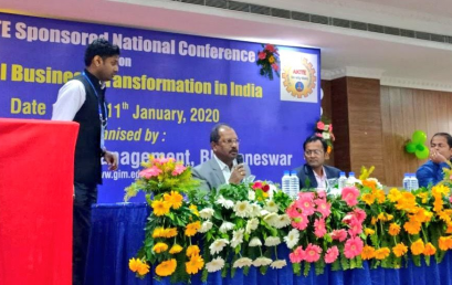 JANUARY 11th 2020-NATIONAL CONFERENCE ON  DIGITAL BUSINESS TRANSFORMATION IN INDIA