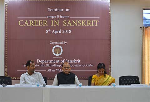 'Career in Sanskrit', April, 2018
