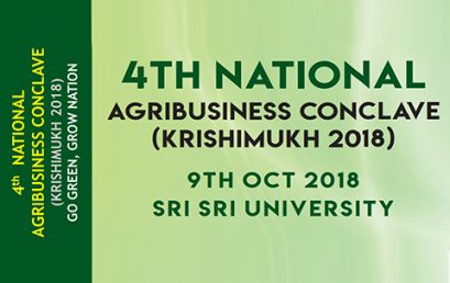 4th National AGRIBUSINESS Conclave  (Krishimukh 2018) 9th Oct 2018