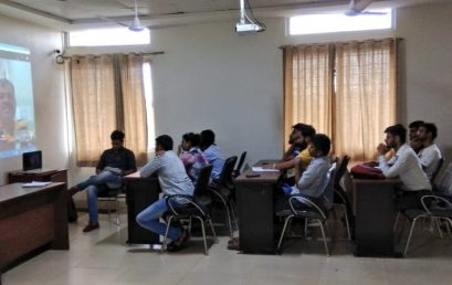 Interactive sessions (Skype) conducted for Agribusiness Students by industry experts