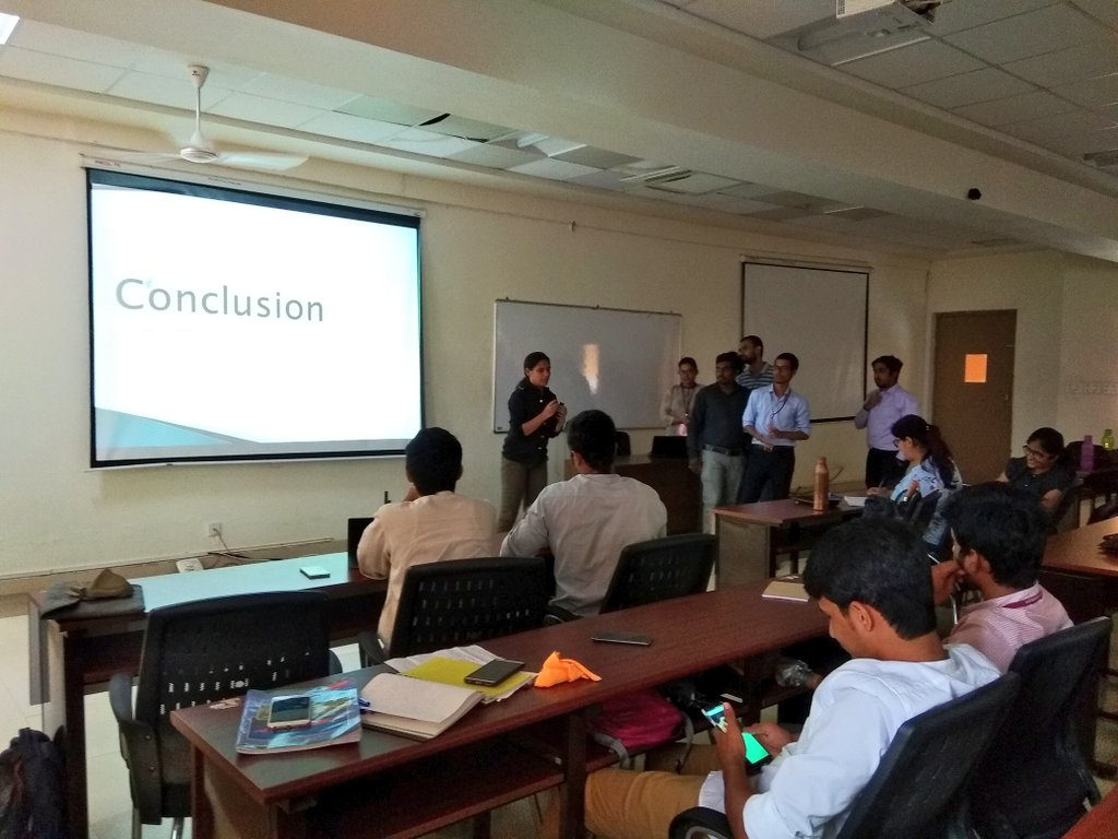 MBA 2018-20 batch participate in an interesting session on Business models