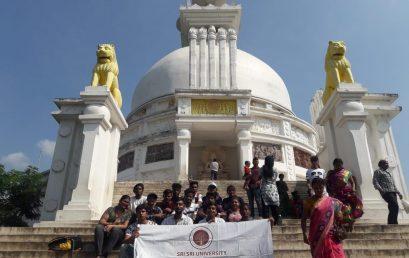 INDUSTRY VISIT: DHAULIGIRI SHANTI STUPA
