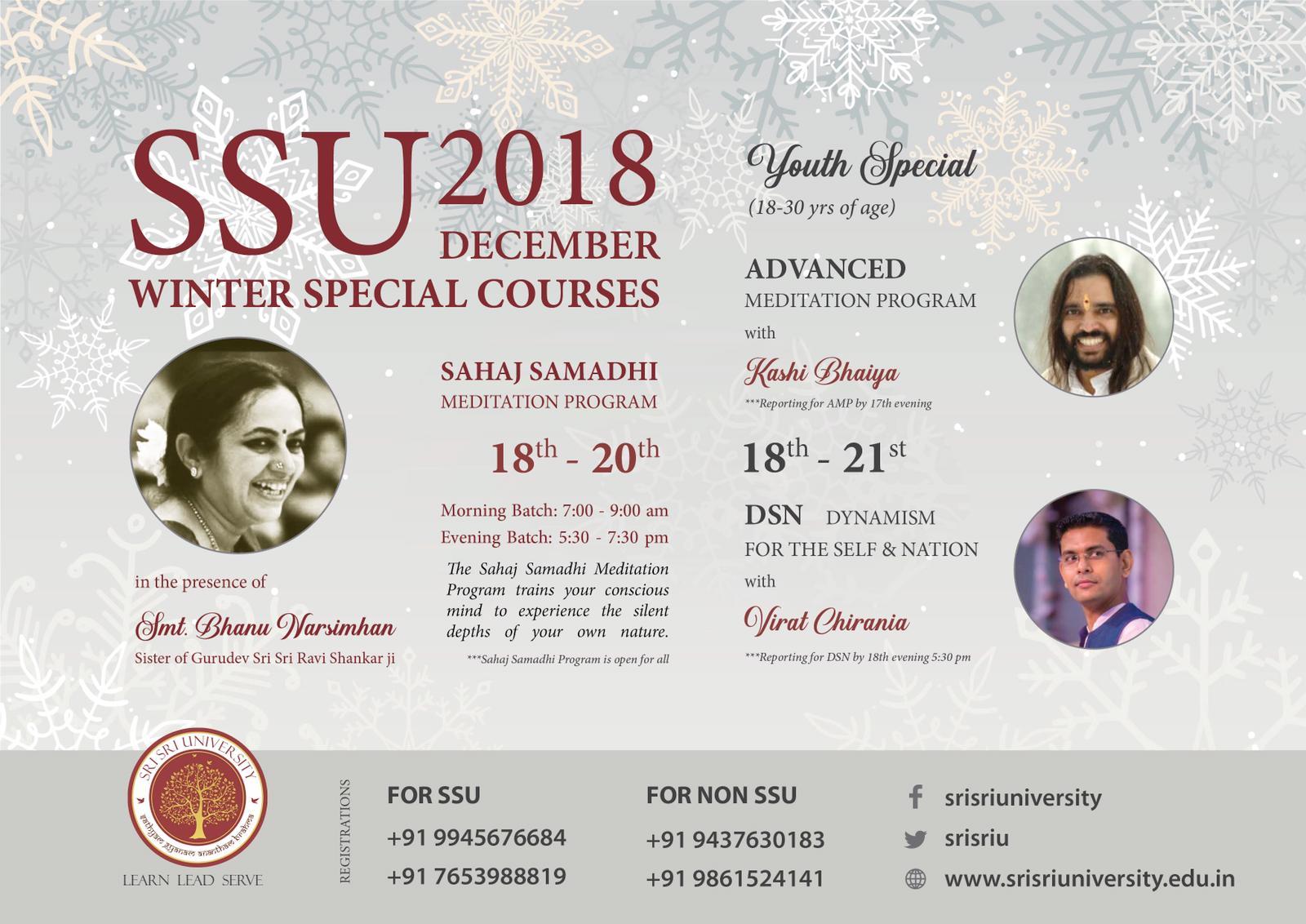 Sahaj Samadhi Dhyana Yoga with Bhanu Didi-SSU