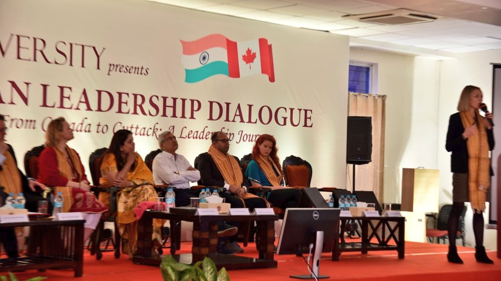 Indo-Canadian #leadership dialogue, From Canada to Cuttack
