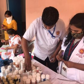 Sri Sri College of Ayurvedic Science & Research Hospital, conducted a 3-day free Ayurveda medical camp
