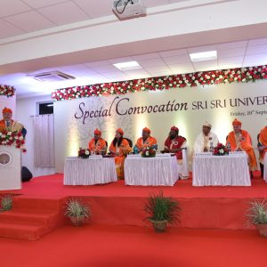 2019 : Special Convocation where 'Honoris Causa' is conferred on Herman De Croo, Former Hon'ble Minister of the Belgian Parliament