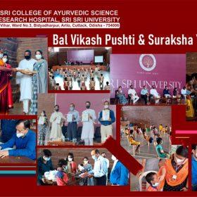 "On the occassion of Rath Yatra, Sri Sri Ayurveda Hospital Launched the ""Bal Vikash Pushti & Suraksha"" Yojana"