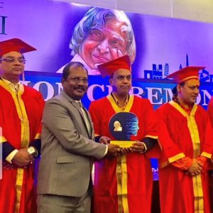 Dr.Bhagirathi Nayak- The APJ Abdul Kalam Research Center Award for his contribution in the field of DataScience.